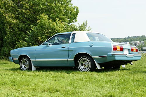 2nd generation Ford Mustang