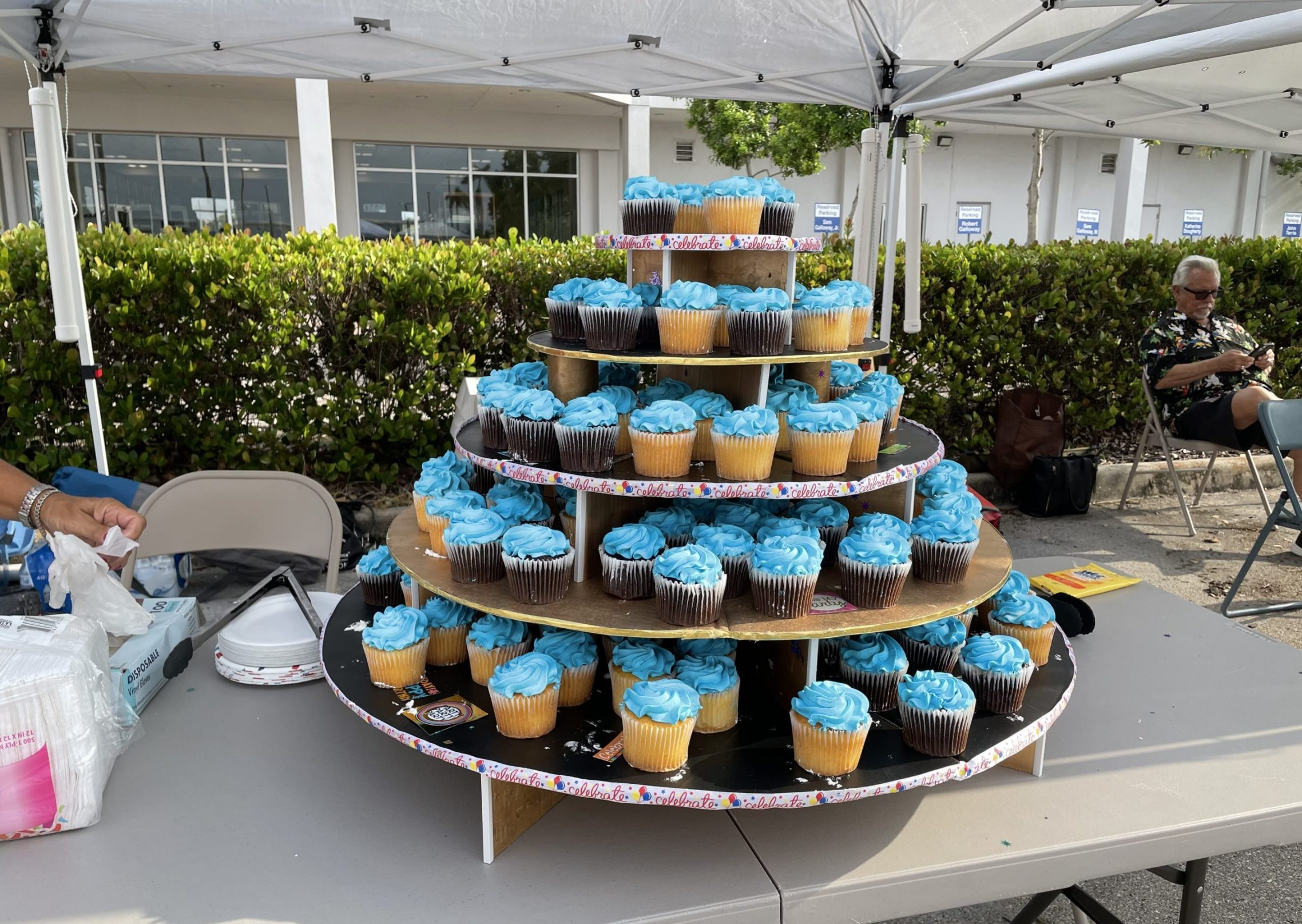 Cup Cake Tower!