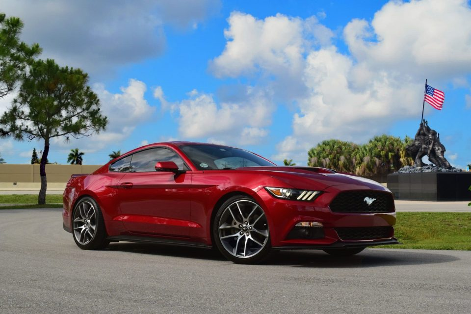 2016 Ruby Red Ecoboost Mustang